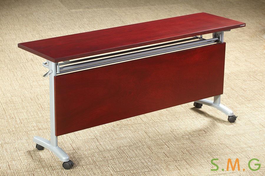 長條桌_鋼木培訓桌4
